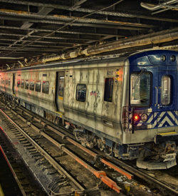 subway hdr / with the gritty realism / that we like to see