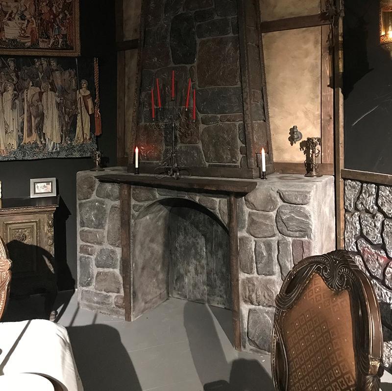 Hidden Door Medieval Fireplace Evilusions