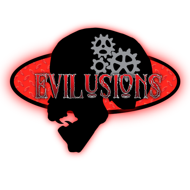 Evilusions Logo Escape Room Prop